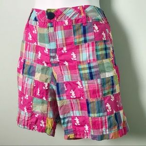 Disney Mickey Mouse Patchwork Shorts